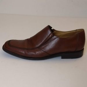 Bostonian Classic Slip On Leather Loafers 10D